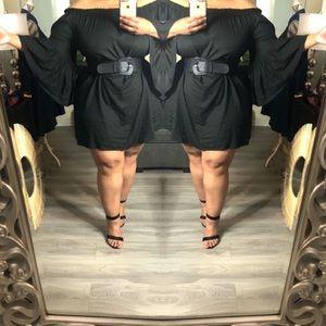 Dresses & Skirts - Black Off The Shoulder Dress